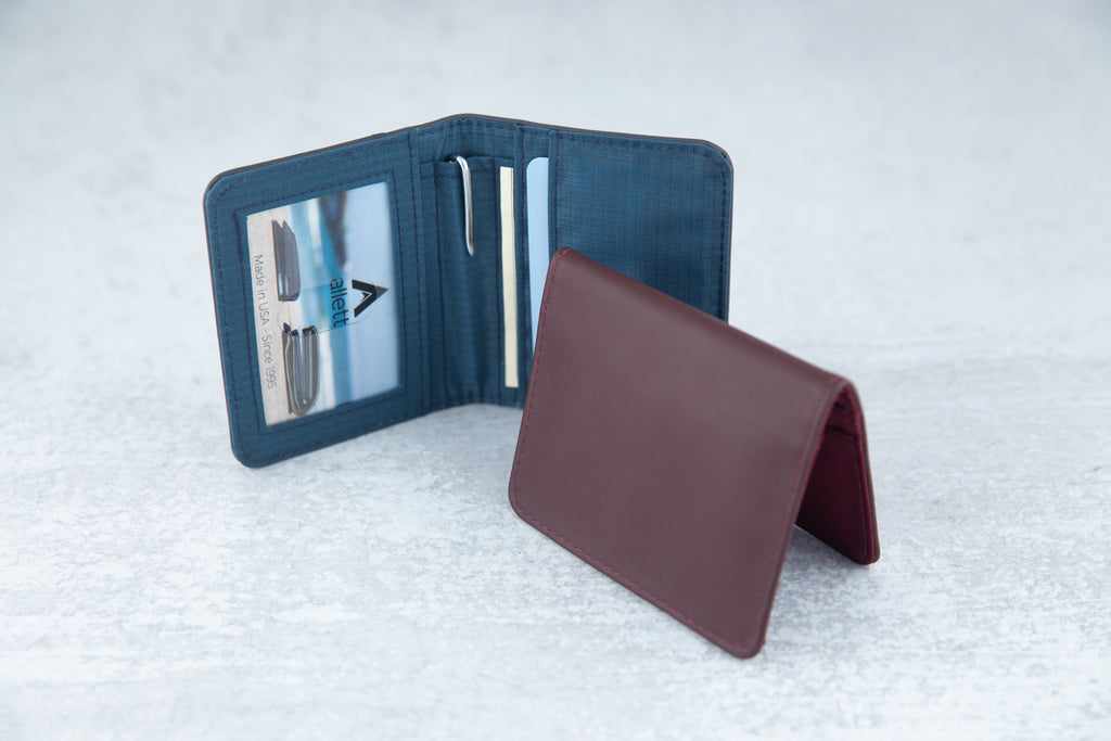 New allett card holder and bifold slim wallets