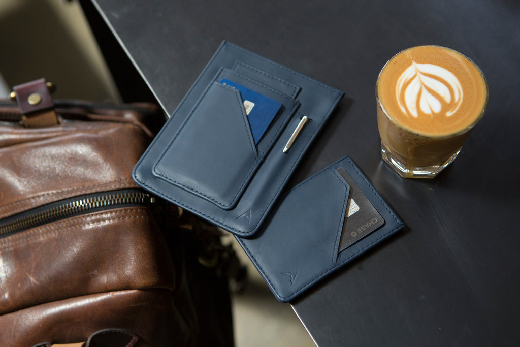 Travel wallet for passport rfid blocking Allett