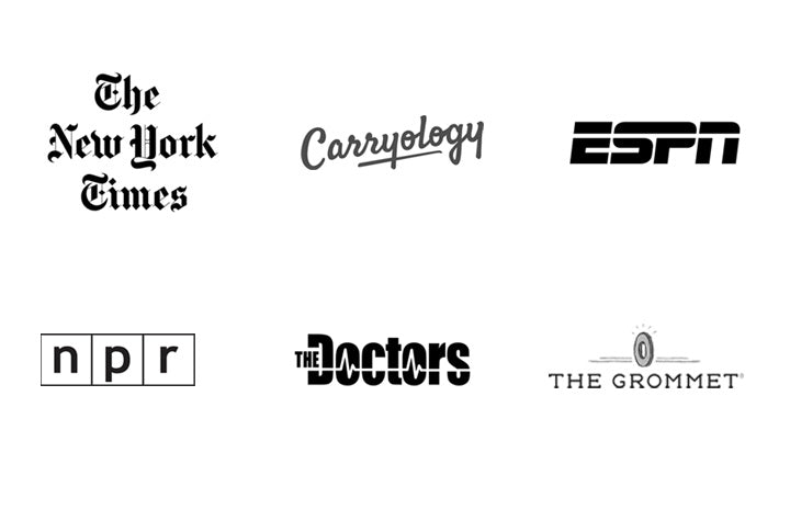 Allett has been featured in the New York Times, Carryology, ESPN, NPR, The Doctors and The Grommet