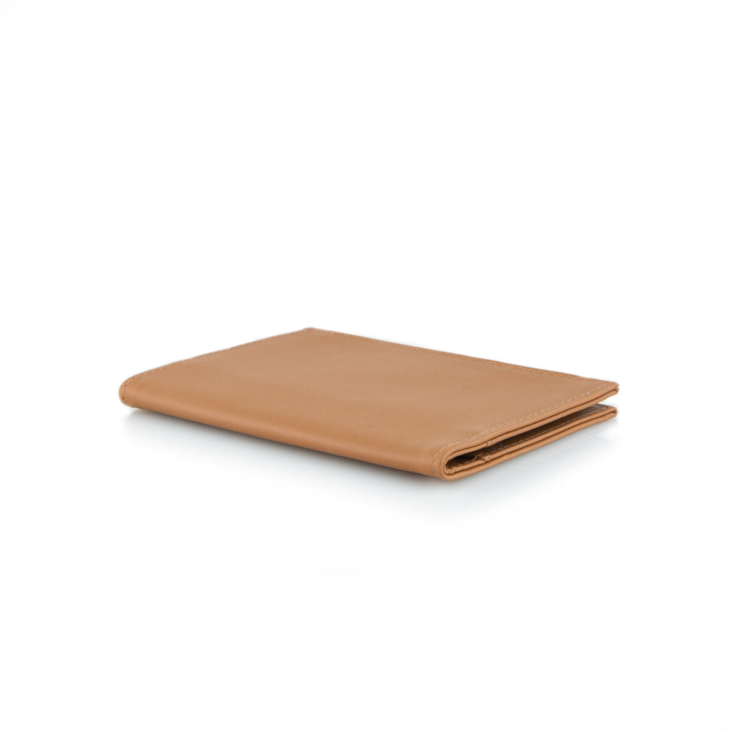 Lux Original Wallet - Allett Lux Leather Original Wallet Brown Flat - tan