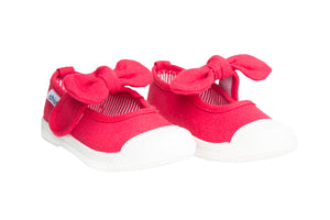 Chus Athena Red Bow Shoe
