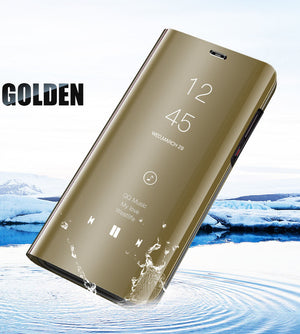 2019 New Arrival Luxury Flip Protection Full Screen Window Cases For Huawei P30 P30Pro P30Lite