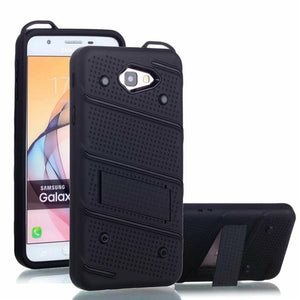 2 in 1 Shockproof Bracket Mobile Phone Case For Samsung S8/S8Plus/Note8/S7/S7 Edge