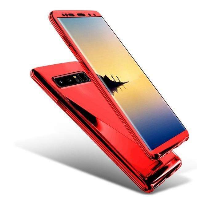 2019 New 360 Degree Full Body Case Soft HD Screen Protection Protector Film Ultralight Slim Hard Mirror Chrome Electroplate Cover for Samsung Galaxy S10 S10Plus S10E