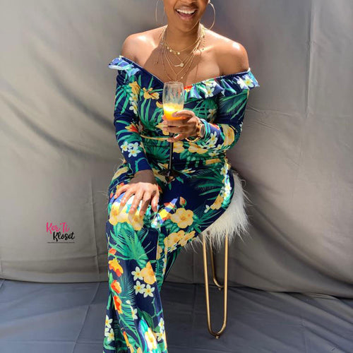 Tropical Delight Jumpsuit