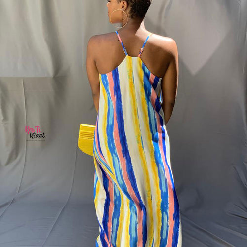 Bring The Heat Maxi Dress