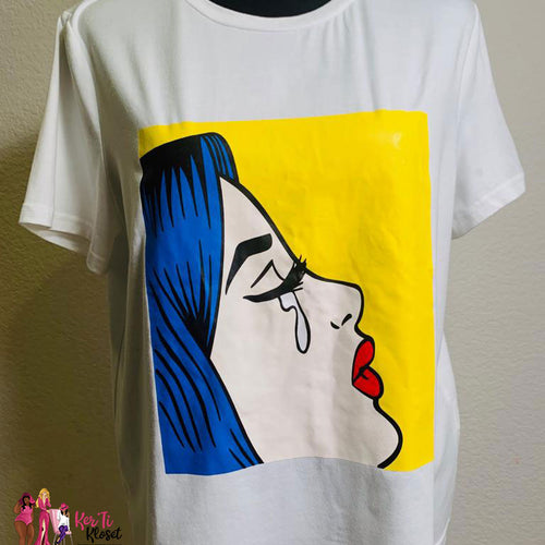 Teardrops Graphic Tee