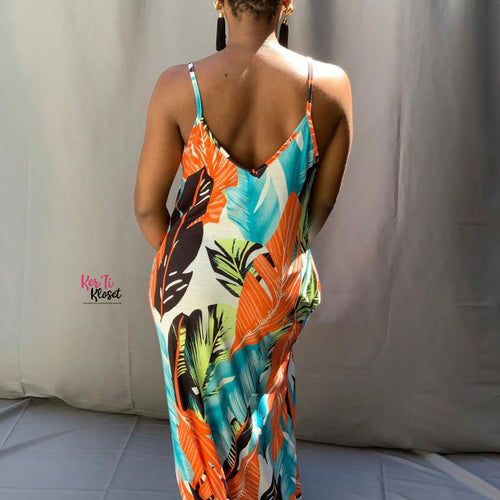 Tahiti Maxi Dress with pockets