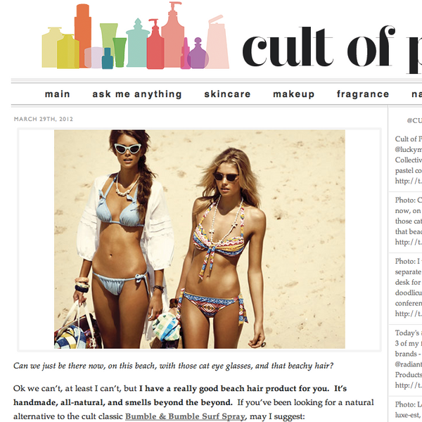 Cult of Pretty | Sea Salt Spray