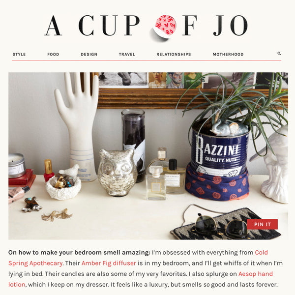 Cup of Jo | Cozy Corner Apartment