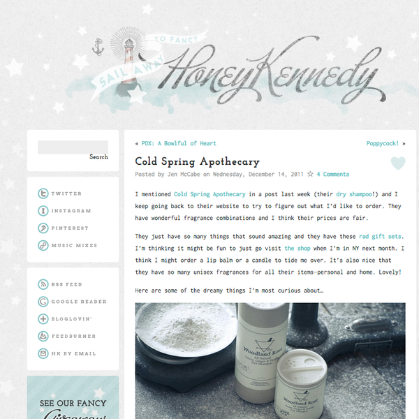 Honey Kennedy | Cold Spring Apothecary