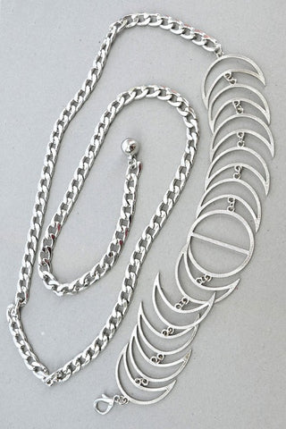 Silver Crescent Moon Belt-RESTOCKED!