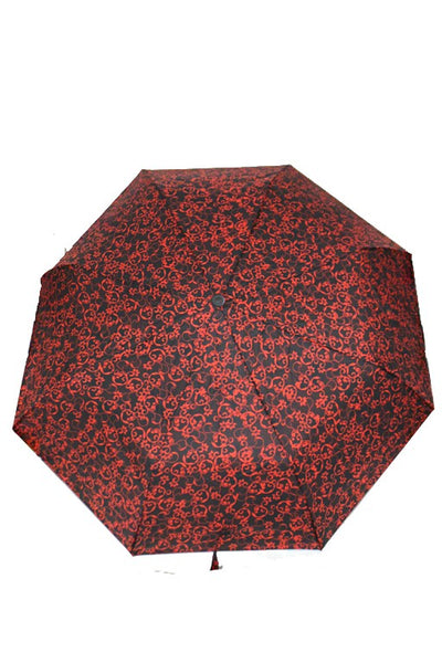 Gothic Floral Scroll Umbrella