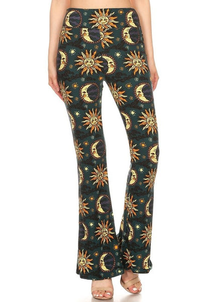 Sun and Moon Flare Pants
