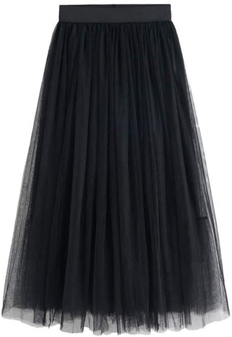 Black Tulle Skirt PLUS SIZE