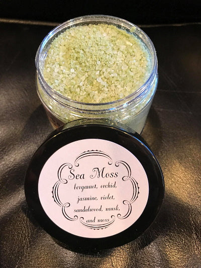 The Dark Siren Sea Moss Sea Salt Soak