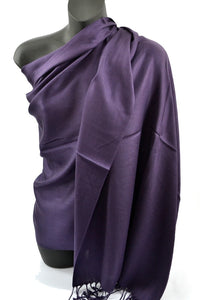 Dark Purple Pashmina