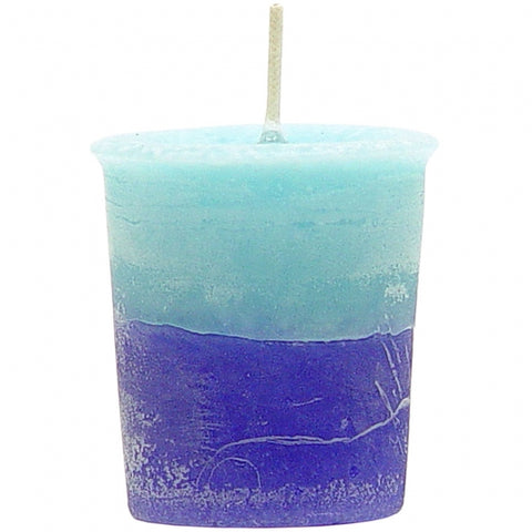 Carribbean Night Ocean Votive Candle