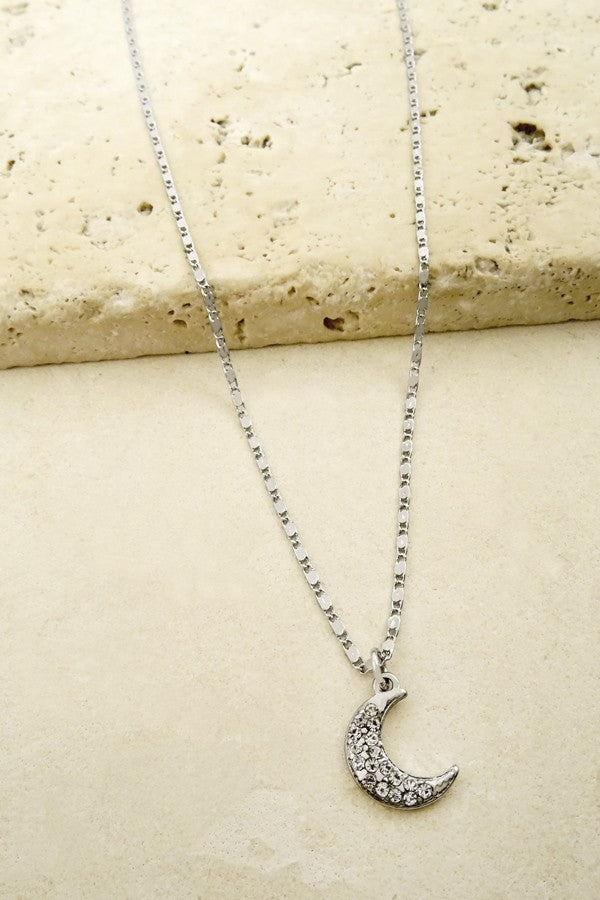 Delicate Crescent Moon Necklace