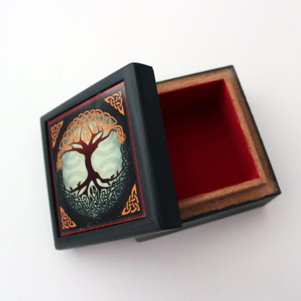 Tree of Life Wood Box