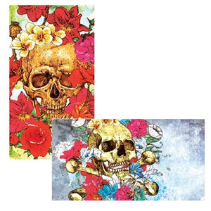 Flower Bouquet Skull Matches