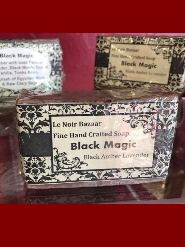 Goat Milk Soap - Black Magick