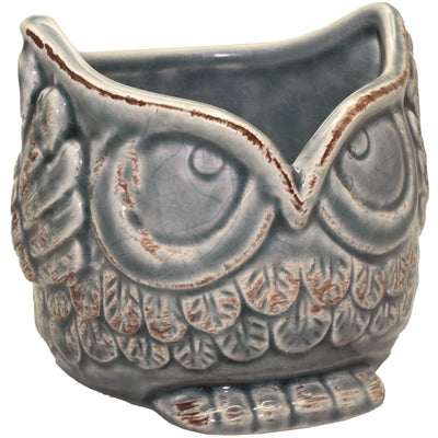 Ceramic Owl Planter