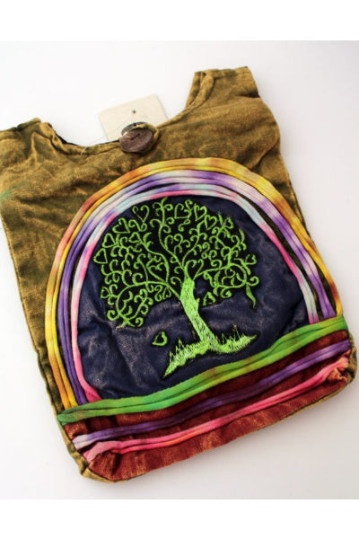 Tree of Life Crossbody Purse