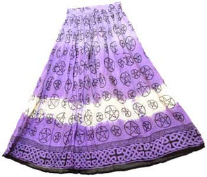 Purple Pentagram Skirt