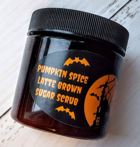 Pumpkin Spice Latte Brown Sugar Body Scrub