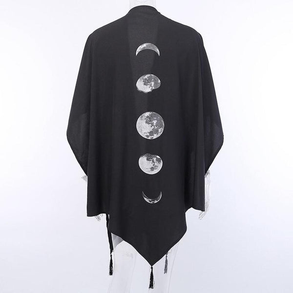 Silky Moon Phase Wrap