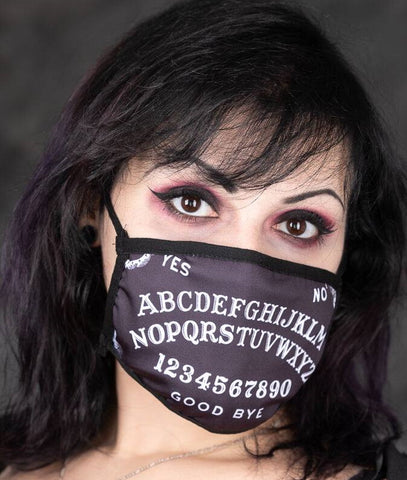 Ouija Board Face Mask