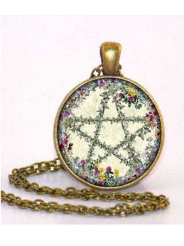 Summer Witch Pentacle Pendant