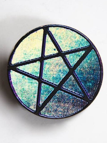 Large Pentagram Hair Clip or Pin