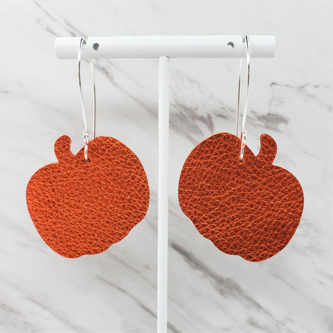 Halloween Earrings | Pumpkin Earrings | Fall Earrings | Jack O Lantern Earrings