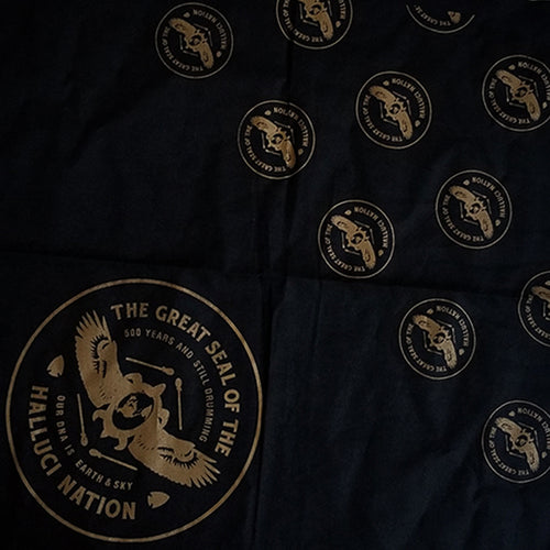 ATCR Bandana - Halluci Nation Gold