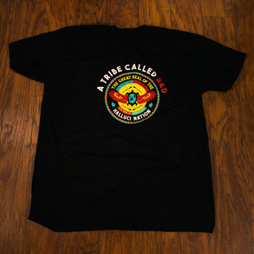 We Are The Halluci Nation - T-Shirt Black