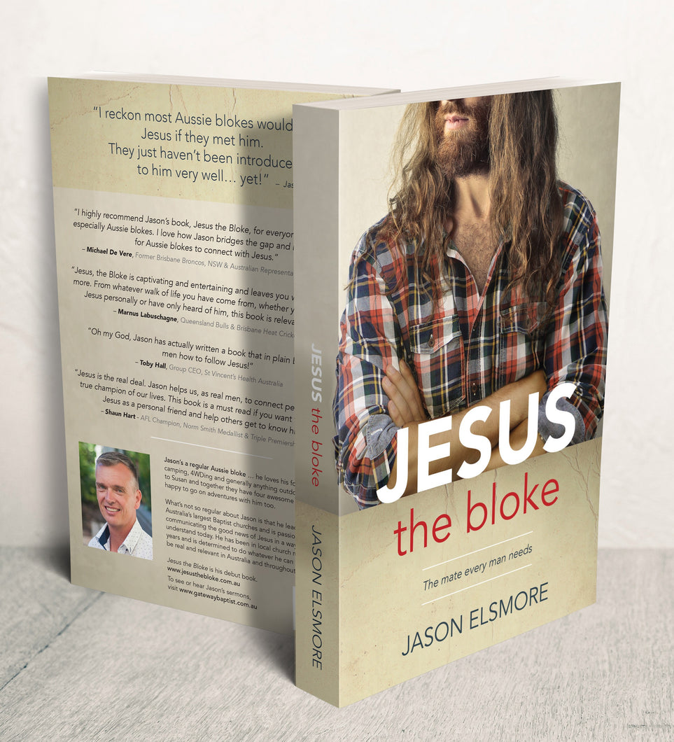 3 copies of Jesus the Bloke + Free Shipping!