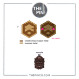 """Supertask"" V2 Antique Pin Set (Presale)"
