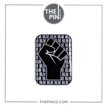 "Load image into Gallery viewer, ""Black Lives Matter"" (Fist) Pin Set"