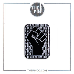 """Black Lives Matter"" (Fist) Pin Set"