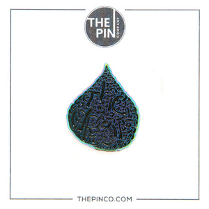 """The Drop BK"" Pin"