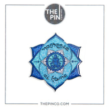 "Load image into Gallery viewer, ""Namaste at Home"" Pin Set"