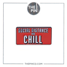 "Load image into Gallery viewer, Social Distance & Chill ""Pin Set"""