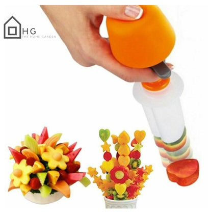 Push & Pop Fruit Cutter