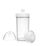 Twistshake Kid Cup Trinkflasche 360ml 12+m - White