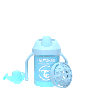 Twistshake Mini Cup Trinkflasche 230ml 4+m - Pastel Blue