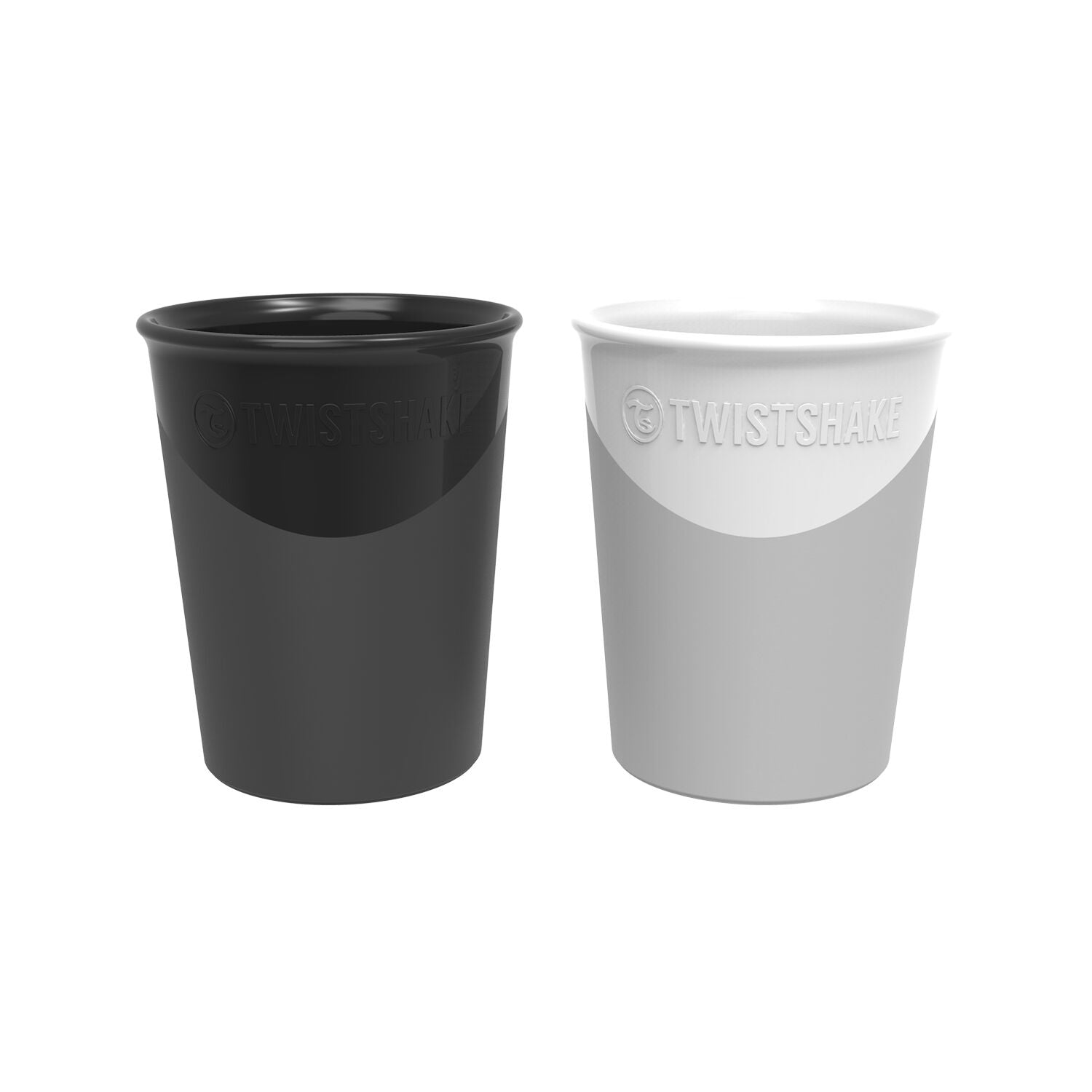 Twistshake Becher 2er Set - Black/White
