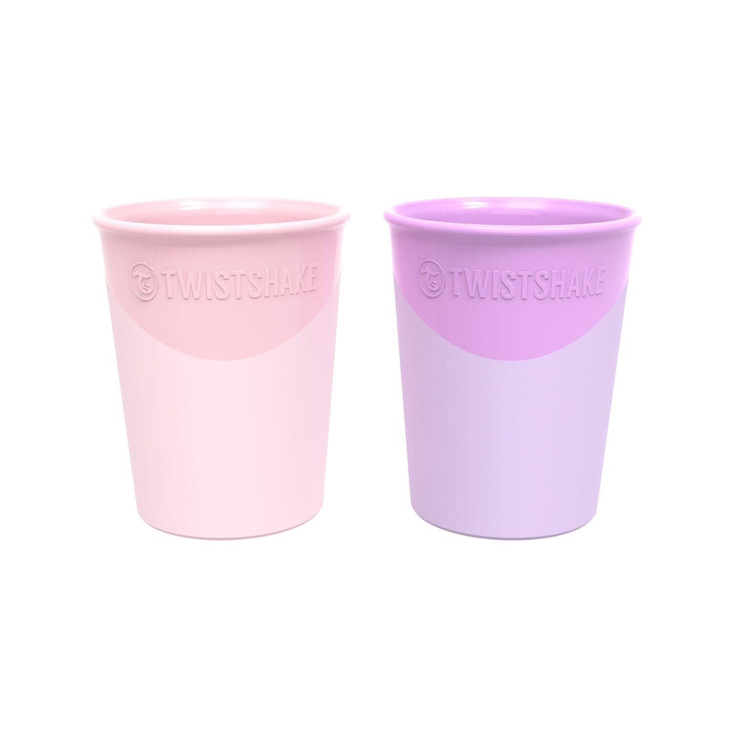 Twistshake Becher 2er Set - Pastel Pink/Purple