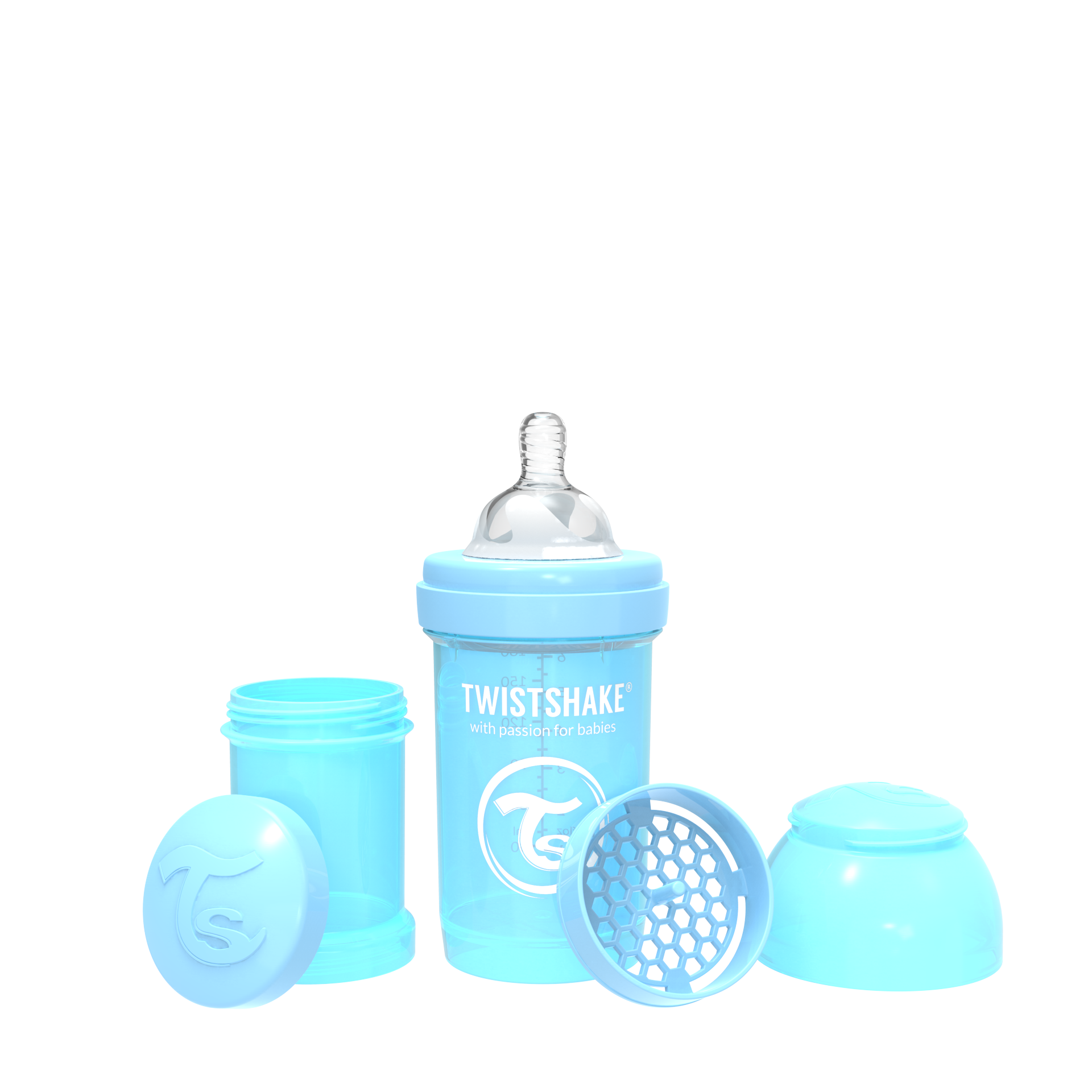 Twistshake Anti-Colic 180ml - Pastel Blue